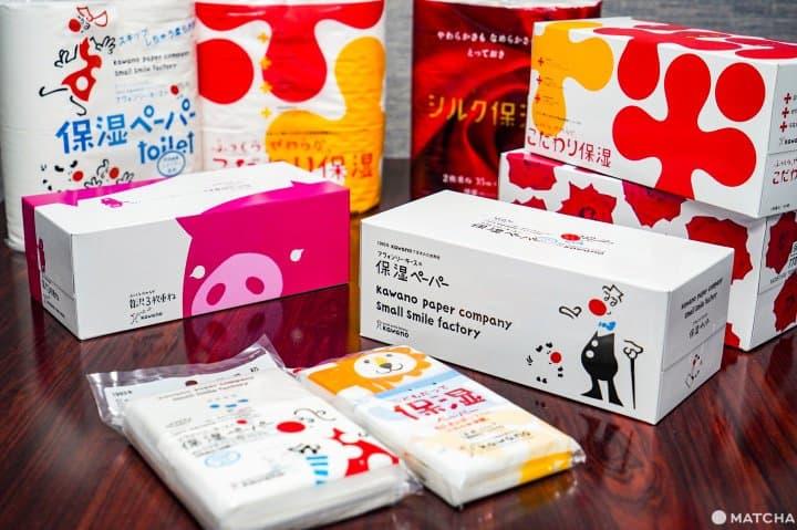 日本面紙衛生紙_河野製紙_保濕面紙保濕衛生紙