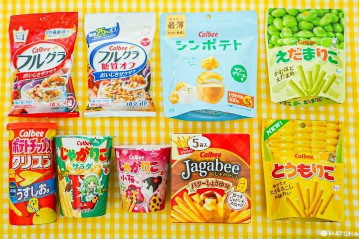 Calbee卡樂比_日本洋芋片_馬鈴薯條餅乾
