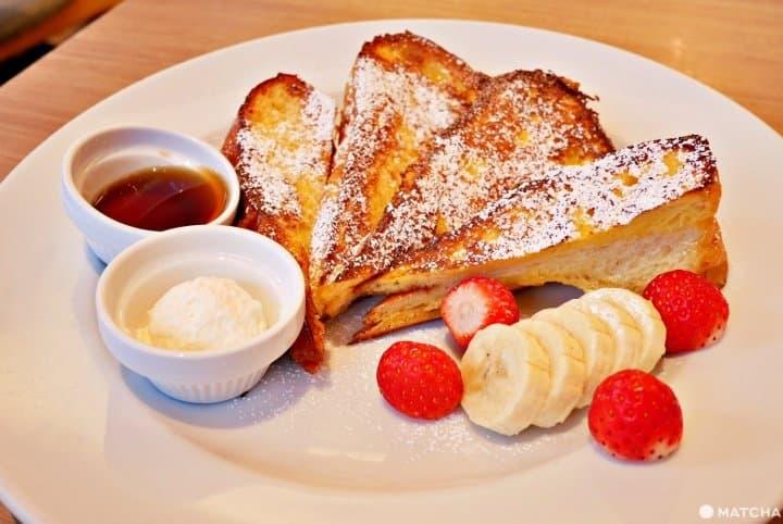 甘い朝食で1日をスタート!東京のスイーツモーニング5選