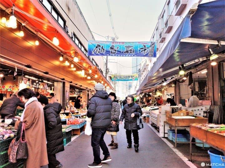 【仙台】跟著仙台人逛市場, 「仙台朝市」5樣人氣美食大口吃