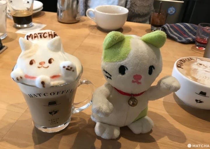 HATCOFFEE - Amazing 3d and 2d Latte Art In Asakusa