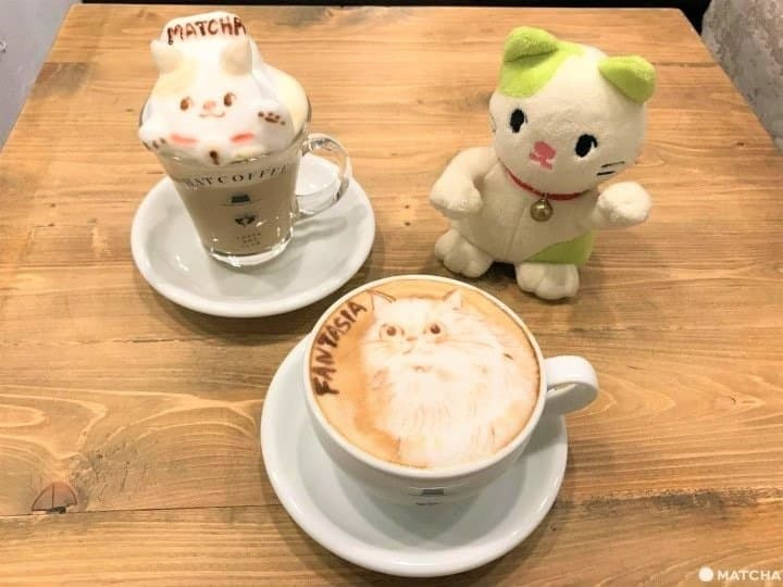 HATCOFFEE - Amazing Order-Made 3D And 2D Latte Art In Asakusa