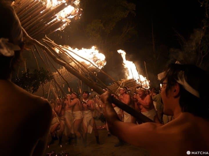 【福岡】與火共舞!日本三大火之祭典「鬼夜」