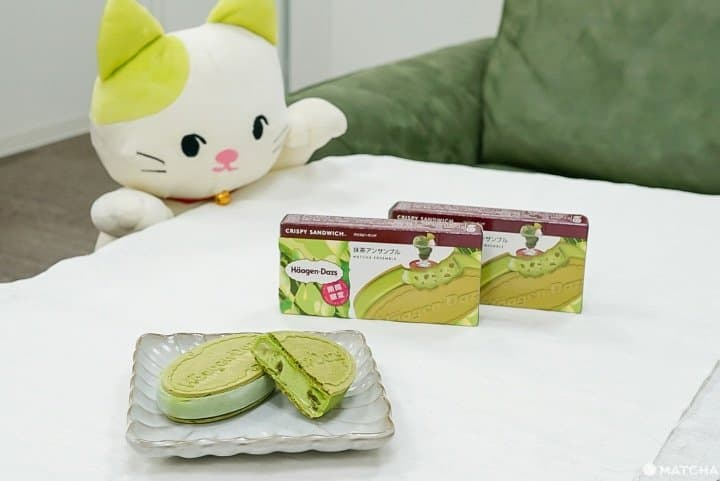 Green Tea Bliss! Häagen-Dazs Matcha Ensemble Crispy Sandwich