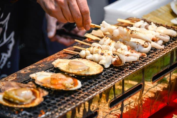 Osaka's Kuromon Market - Fresh Seafood And Affordable Blowfish
