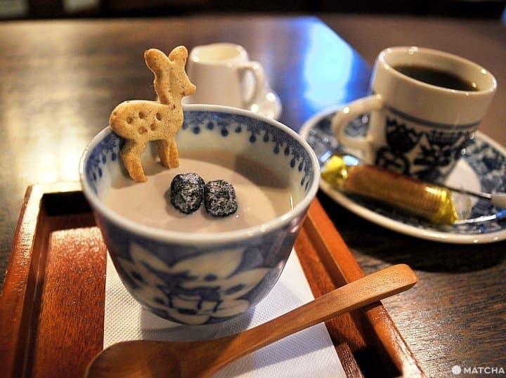 【奈良】與老屋相戀的愛情結晶,咖啡館「四葉草咖啡」(よつばカフェ)