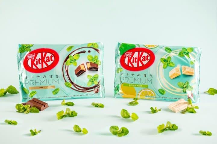 Summer Treats! KitKat Premium Mint, Lemon Mint, And Ocean Salt