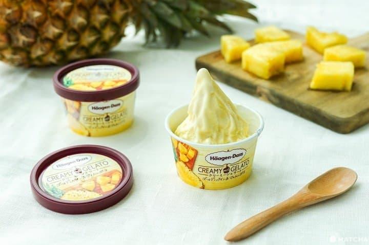 Welcome Summer! Häagen-Dazs Creamy Gelato Golden Pineapple & Mascarpone