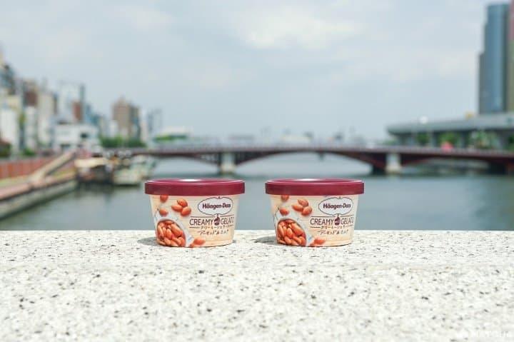 A Fragrant Summer Dessert! Häagen-Dazs Creamy Gelato Almond & Milk