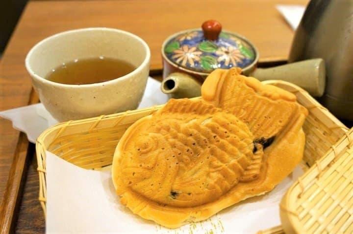 Taiyaki, Fish-Shaped Japanese Sweets