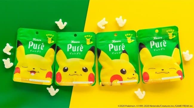 Adorable Pikachu Gummy Candy With An Electric Flavor