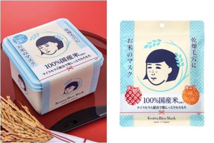 狂銷2億片的「毛穴撫子 白米面膜」日本妹的肌膚Q彈法寶!