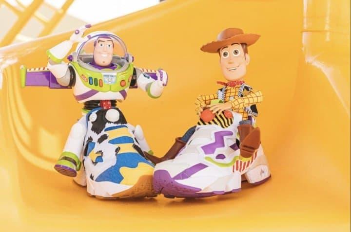 玩具總動員BAIT REEBOK 聯名鞋