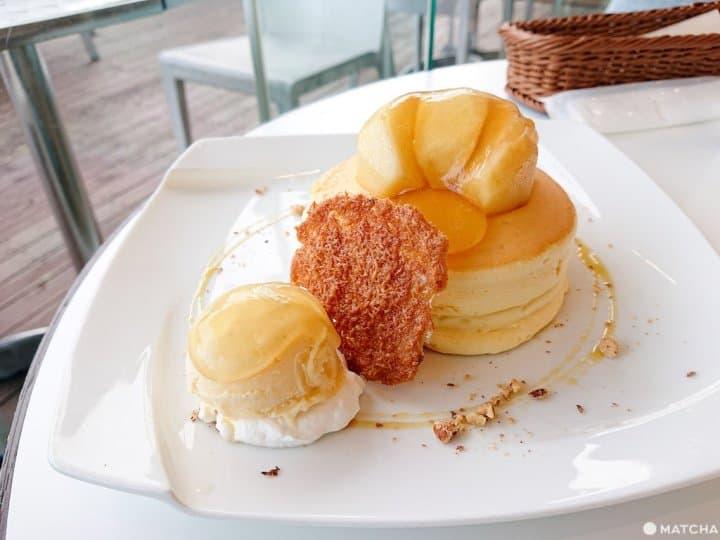 鳥取「大江ノ郷自然牧場」雞蛋界的VIP所製!空氣感楓糖奶油鬆餅