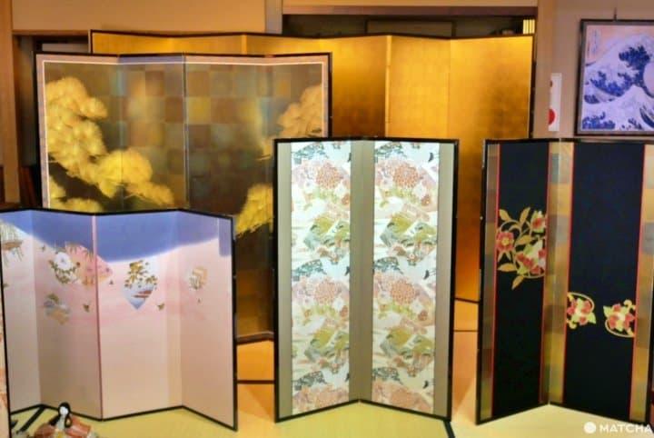 東京スカイツリー周辺で体験できる伝統美「片岡屏風店」の屏風作り