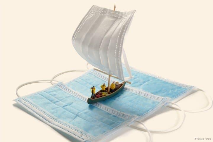田中達也 帆船口罩