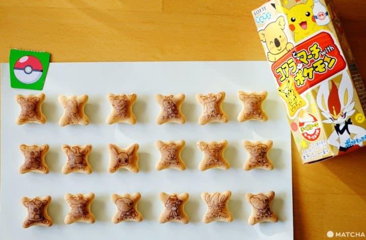 樂天小熊餅乾 寶可夢pokemon