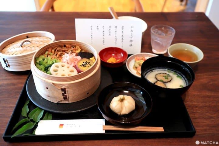 『岡山』連桃太郎也想品嚐!?吉備糰子創始店「廣榮堂」夢幻時蔬套餐