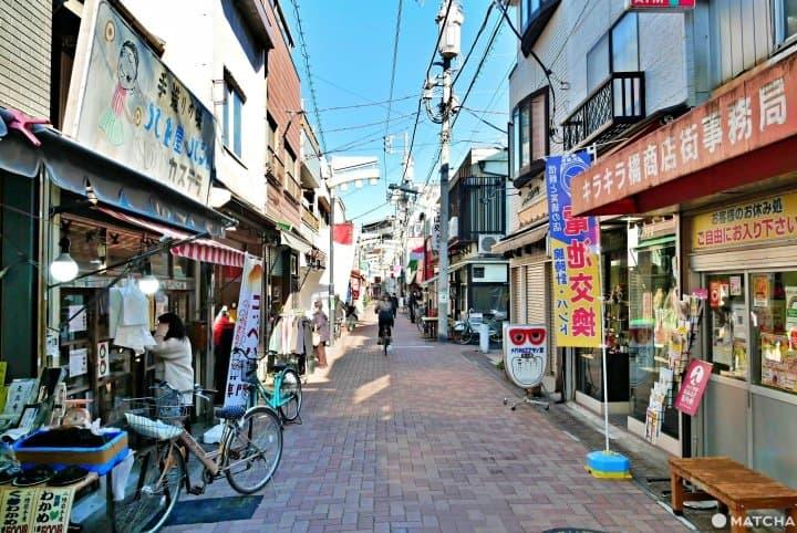 Walk and Eat Through Retro Japan! Tokyo's Kirakira Tachibana Shotengai