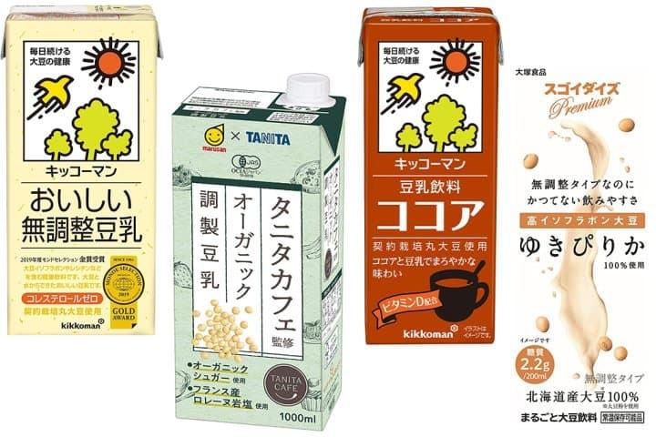 日本豆乳與台灣豆漿的差別?整腸又消脂!減肥瘦身者必喝的日本豆乳5選