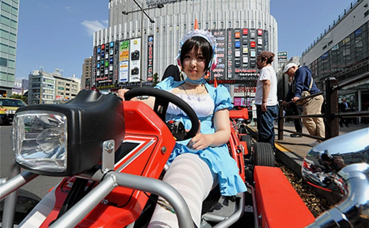 預約秋葉原Go-Kart跑跑卡丁車